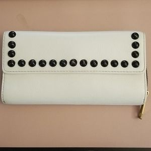 Fossil RFID wallet with metal studs